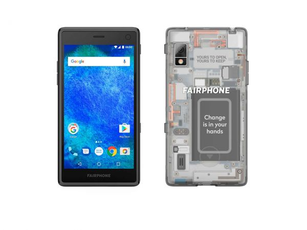 "Smartphone ""Fairphone 2"" transparent"