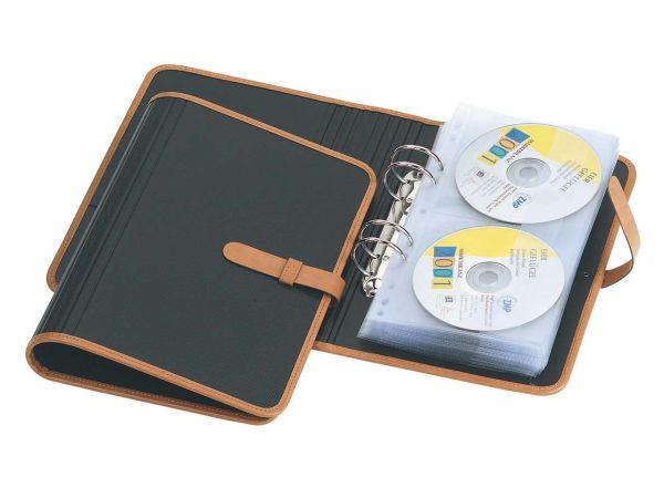 """CD-Ringbuch """"Opaco"""" mit 10 CD-Hüllen"""