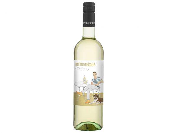 """Bio-Weißwein Chardonnay """"BISTROTHÈQUE"""" 0,75 l"""