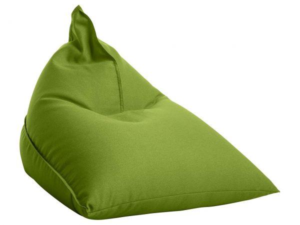 """Sitzsack """"Triangle"""" grün, für Innenbereich"""