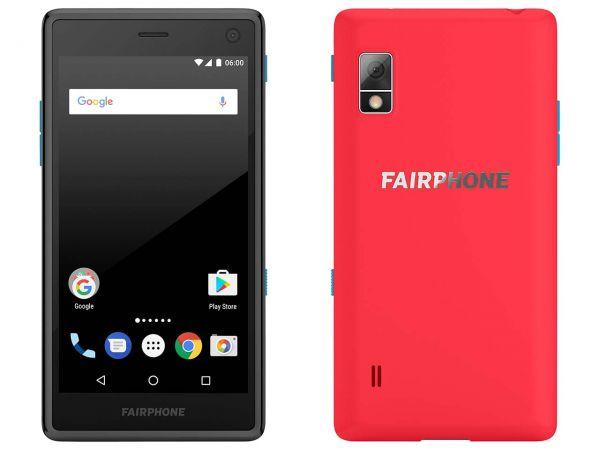 """Smartphone """"Fairphone 2"""" korallrot"""
