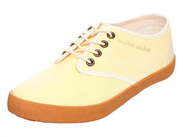 "Organic Sneaker ""Joline"" Gr. 36, gelb"