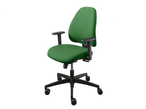 """Bürodrehstuhl """"fun-on"""" mit weichen Rollen grün"""