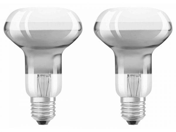 "2er-Pack OSRAM LED-Lampe ""Star Retrofit"" CL R63, 4 W, E27, 330 lm"