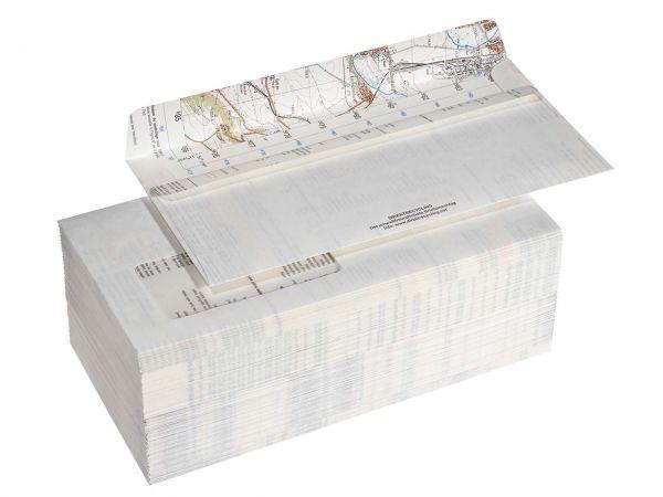 100 DRP Briefumschläge DL m.F.Skl 100gr