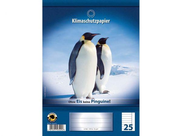 Schulheft A4 16 Blatt Lineatur 25