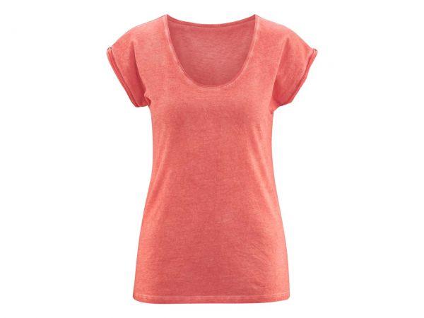 """Bio-Damen-T-Shirt """"Erynn"""" rot, Gr. XS"""