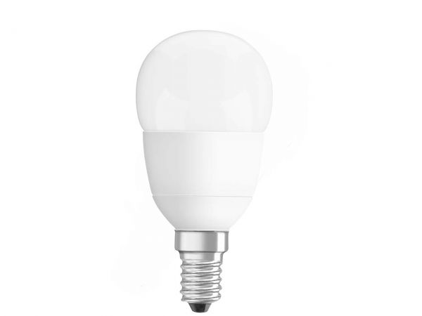 "OSRAM LED-Lampe ""Superstar Classic P40"", matt, E14, 6 W, 470lm, 2700K, dimmbar"