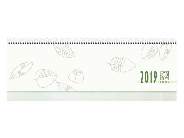 Zettler Tischkalender 112 Seiten 2019 mit Fußleiste