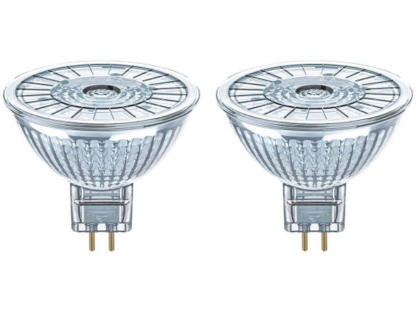 "2er-Pack OSRAM LED-Lampe ""Star"" Strahler MR16, 5 W, GU5.3, 350 lm"