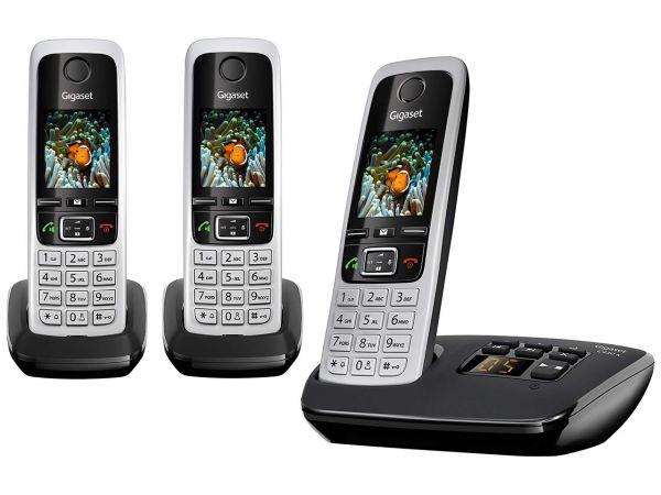 "Gigaset Schnurloses Telefon ""C430A Trio"" Analog"