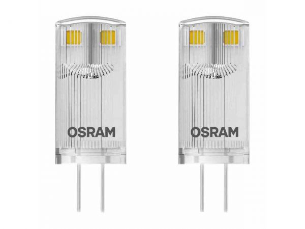"2er-Pack OSRAM LED-Lampe ""Star"" PIN CL10, 1 W, G4, 100 lm"