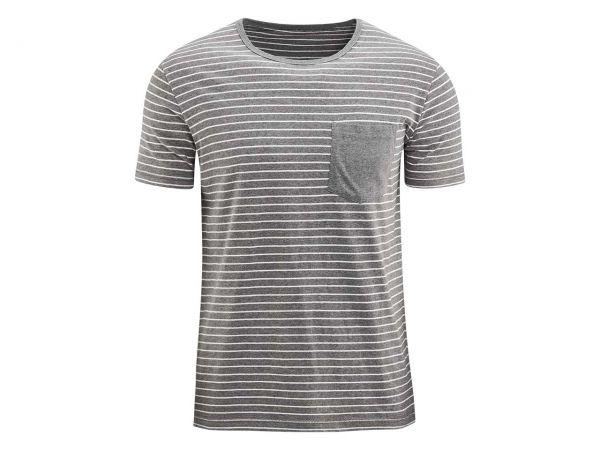 "Bio-Herren-T-Shirt ""Claas"" mud/natur, Gr. S"