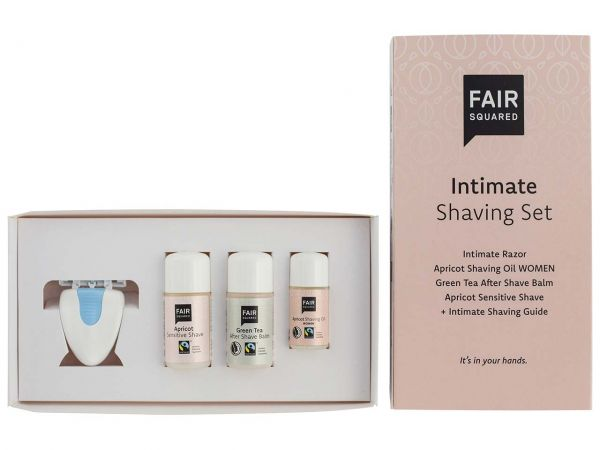 "Fair Squared Geschenkset ""Intimate Shaving"""