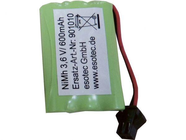 NiMh Akku für Solar-Leuchtkugel 3,6 V, 600 mAh