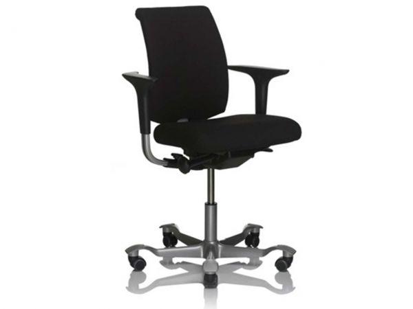 HAG Bürodrehstuhl 5300 FAME schwarz mit SwingBack-Armlehnen