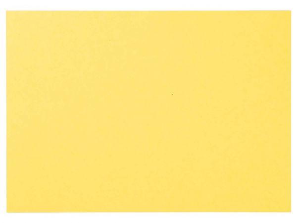 100 memo Karteikarten blanko DIN A5 gelb