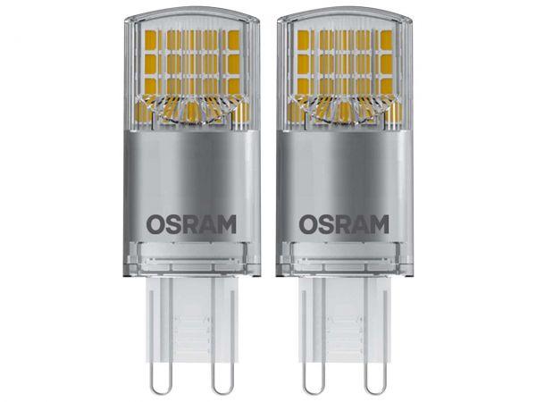 """2er-Pack OSRAM LED-Lampe """"Star"""" PIN FR40, 3,8 W, G9, 440 lm"""