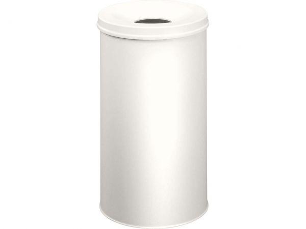 Durable Papierkorb mit Flammschutz 30 l lichtgrau