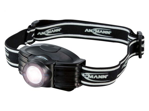 "Ansmann LED-Stirnlampe ""Headlight Future"" 1,8W LED, 200m, 6h"