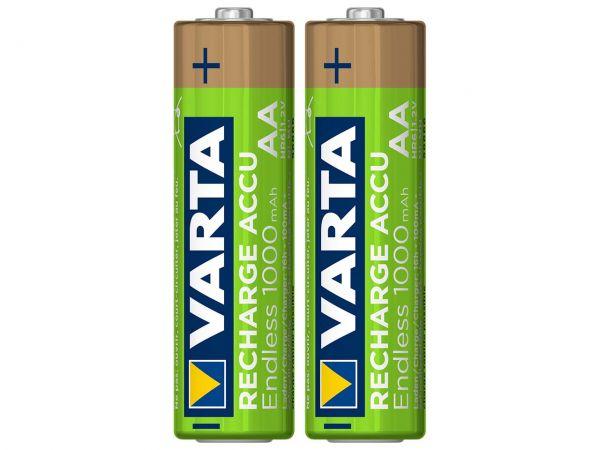 "Varta Ready-to-use Akku ""Endless"" Mignon AA, 1,2 V, 2.500 mAh, 2 Stk."