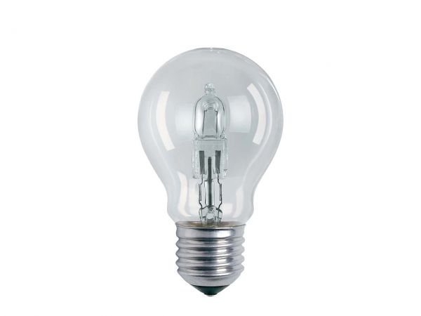 OSRAM Halogen-Glühlampe 'Classic', E27, 57W, 915lm, klar, 230V