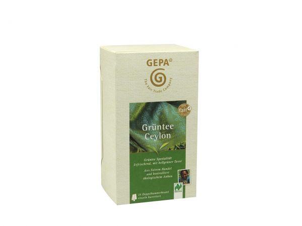 GEPA Ceylon Bio Grüntee 25 x 1,7 g