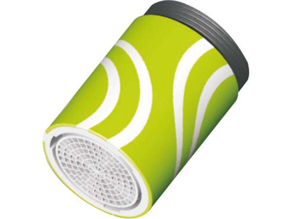 """Gorodal Strahlregler """"DESIGNIA"""" für Innen- und Außengewinde M22/M24 grün"""