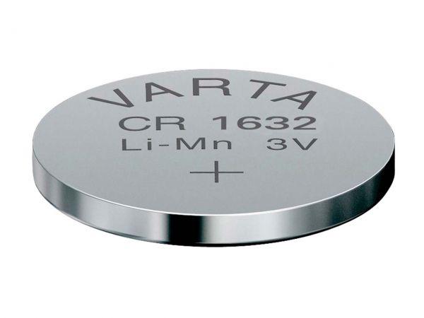 Varta Lithium-Knopfzelle CR1632, 3 V