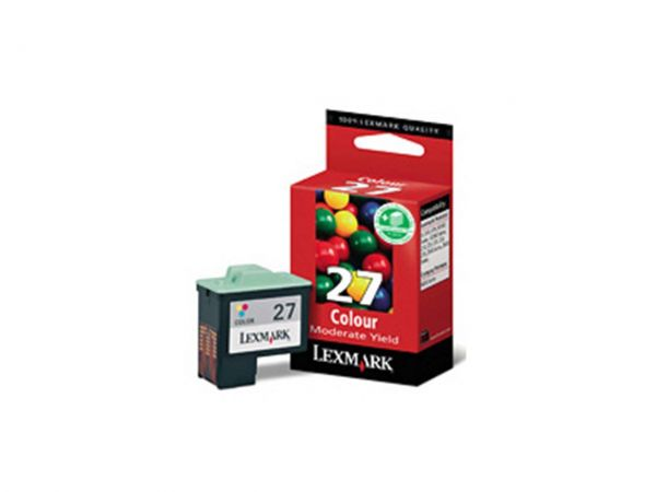 Lexmark Tintenpatrone Nr. 27 color