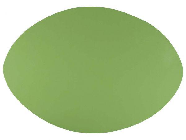 Tischset aus Recyclingleder grün