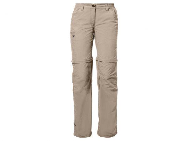 """VAUDE Damen-Trekkinghose """"Farley ZO Pants IV"""" hellbraun, Gr. 34-short"""