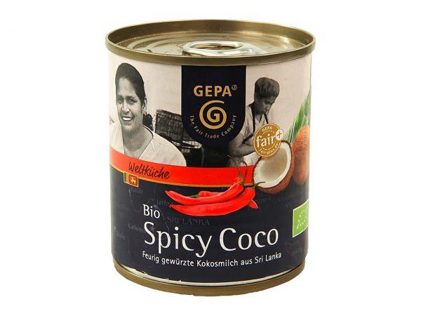 "GEPA Bio-Kokosmilch ""Bio Spicy Coco"" 200 ml"