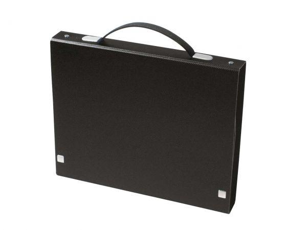 Tisch-Flipchart Opaco A4 quer, schwarz