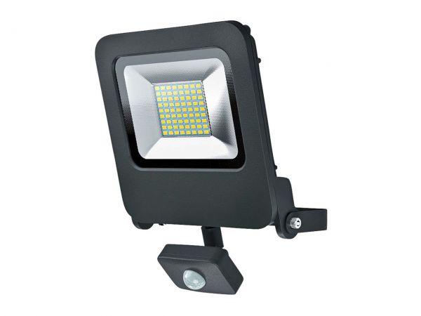 "OSRAM LED-Strahler ""Floodlight"" mit Sensor dunkelgrau"