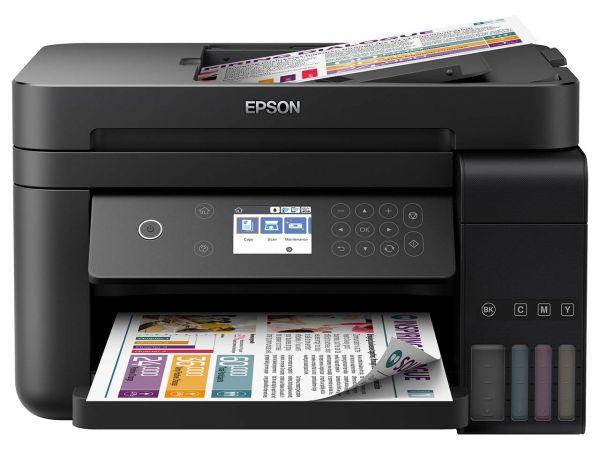 """Epson Tintenstrahl-Multifunktionsdrucker """"EcoTank ET-3750"""", B-Ware, Zustand sehr gut"""