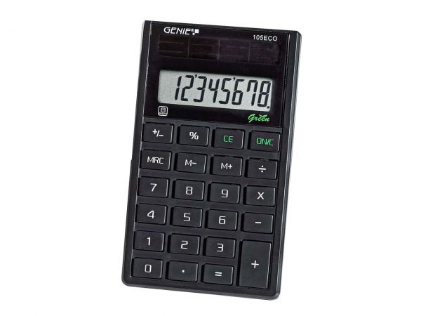 """Genie Taschenrechner """"105ECO"""""""